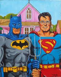 א.ג. סופרמן ובאטמן